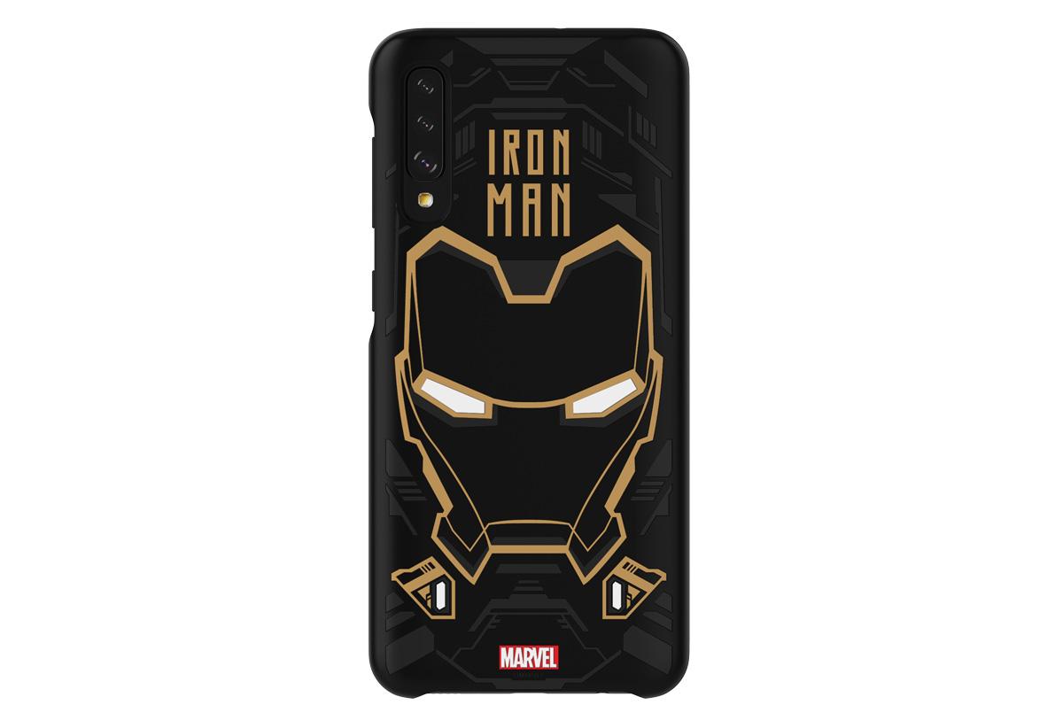 fundas Marvel para Samsung Galaxy A50 Iron Man
