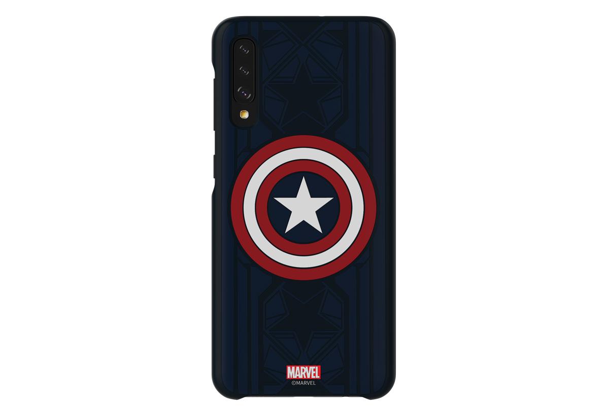 fundas Marvel para Samsung Galaxy A50 Capitán América