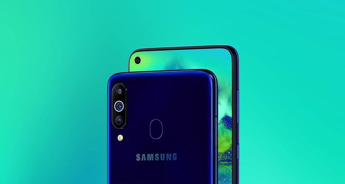 Samsung Galaxy M40, muesca en pantalla, triple cámara y Snapdragon 675