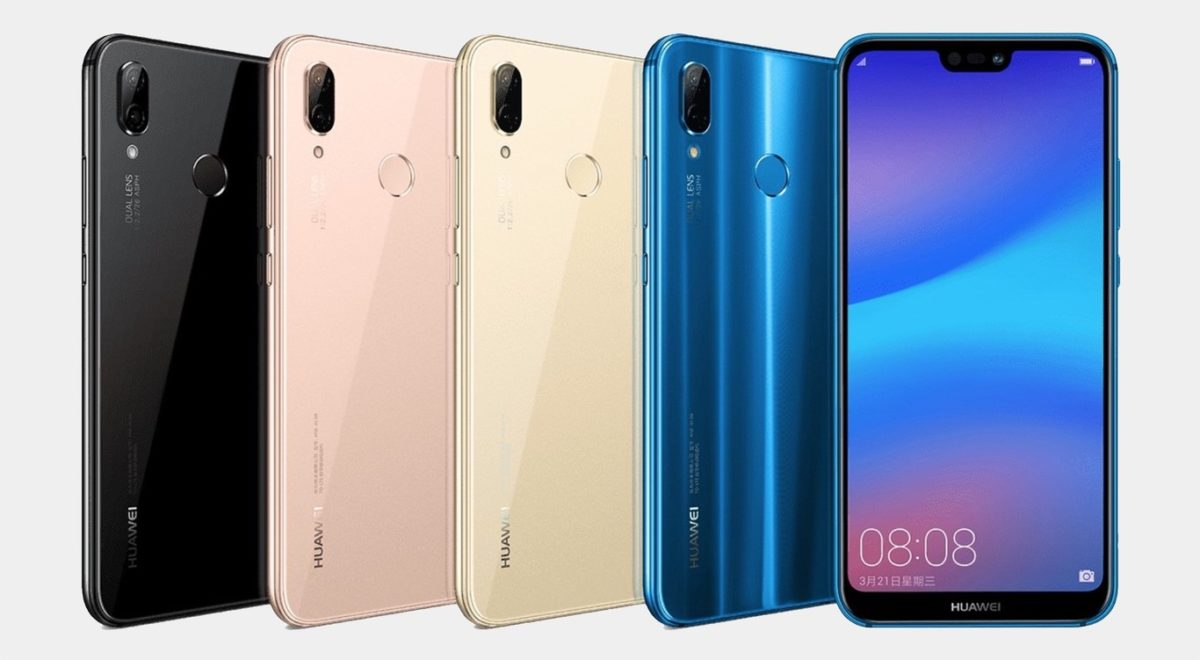 You can now update the Huawei P20 Lite to Android Set Pie