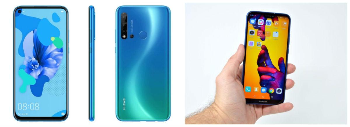 5 diferencias del Huawei P20 Lite 2019 y el P20 Lite 2018