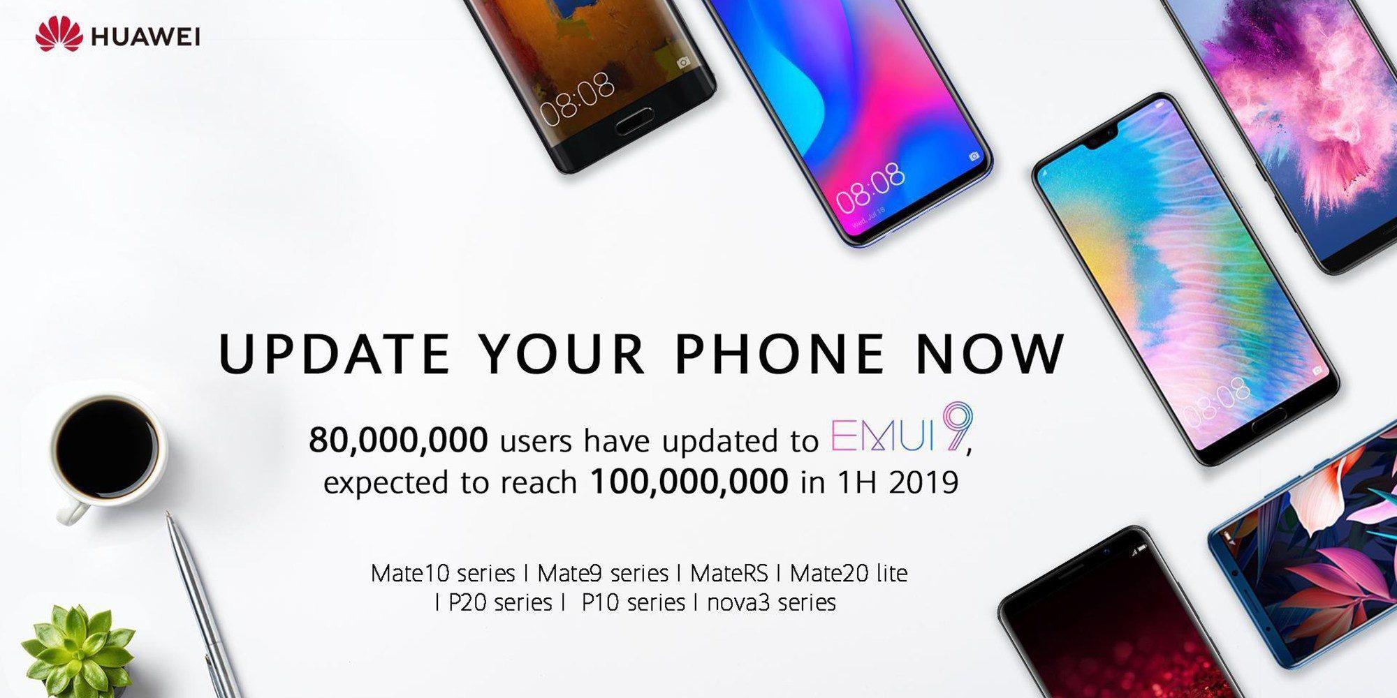 EMUI 9 llega a nuevos móviles de Huawei: listado completo
