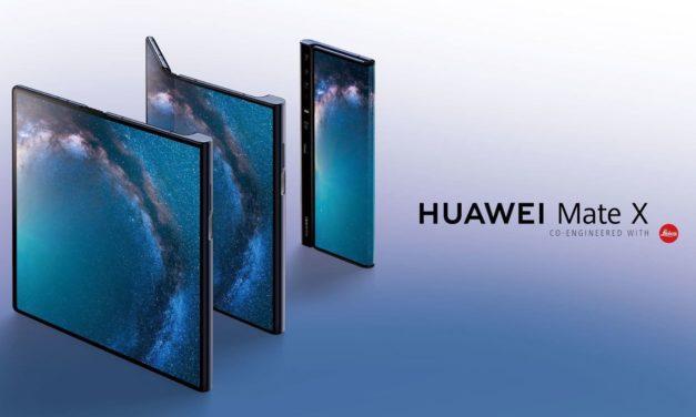 El Huawei Mate X podría llegar a las tiendas en pocos días