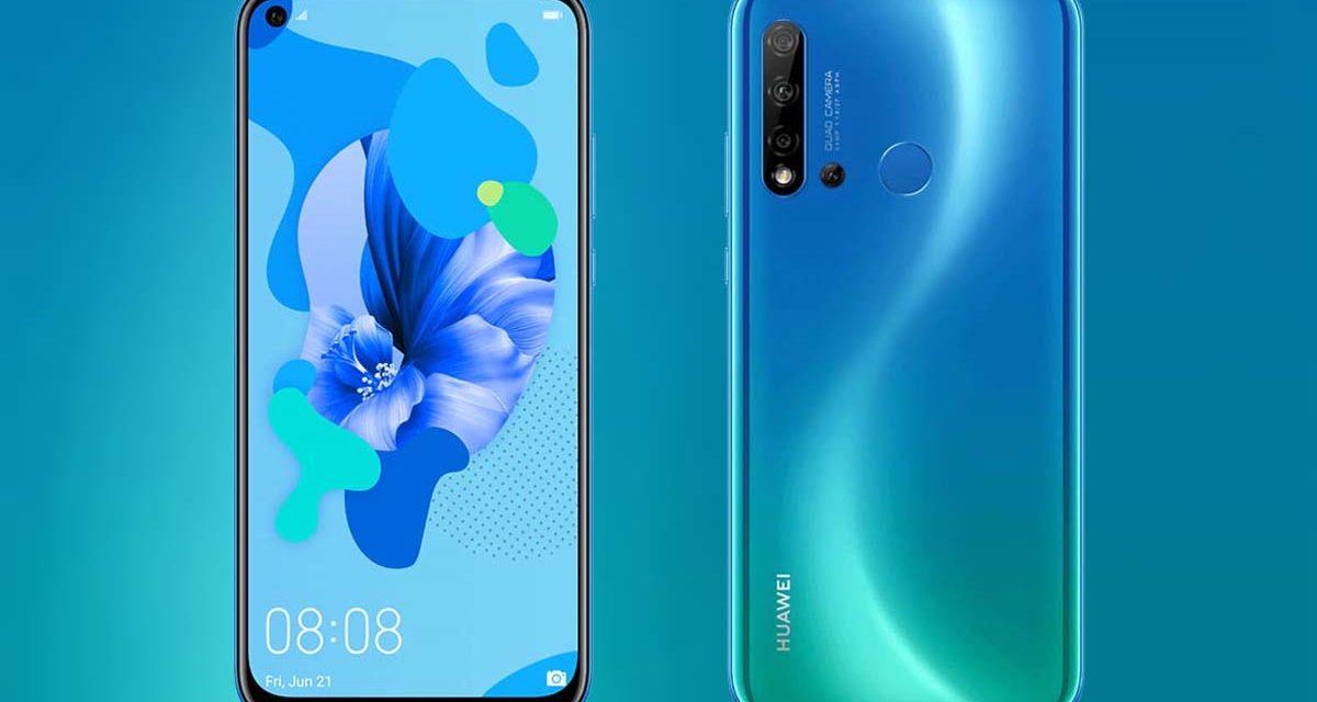 El Huawei P20 Lite 2019 es oficial: cuatro cámaras y 4.000 mAh