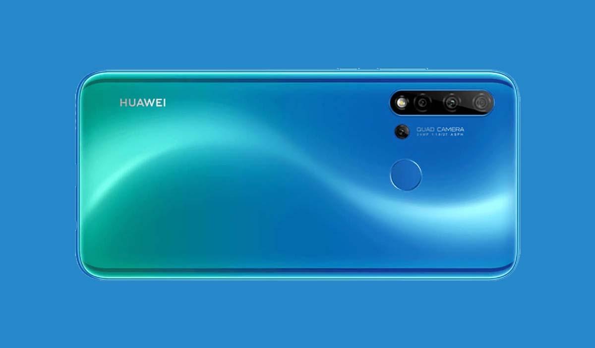 Huawei P20 Lite 2019 camara