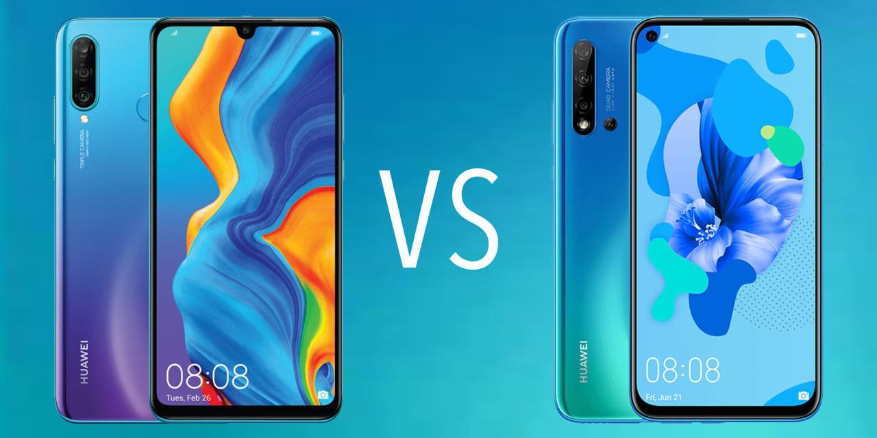 Comparativa Huawei P20 Lite 2019 vs Huawei P30 Lite