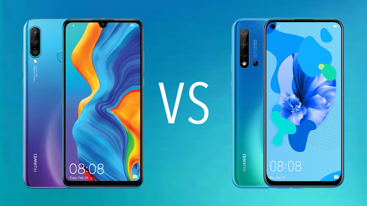 Comparativa Huawei P20 Lite 2019 vs Huawei P30 Lite 1