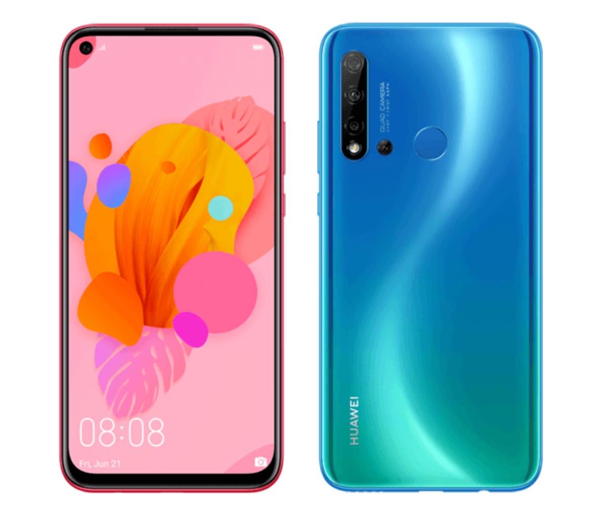 Huawei P20 Lite 2019 diseño