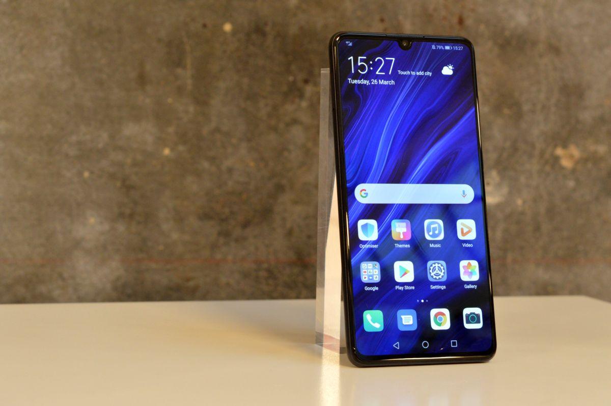 El sensor de huellas del Huawei P30 y P30 Pro mejora con la última actualización