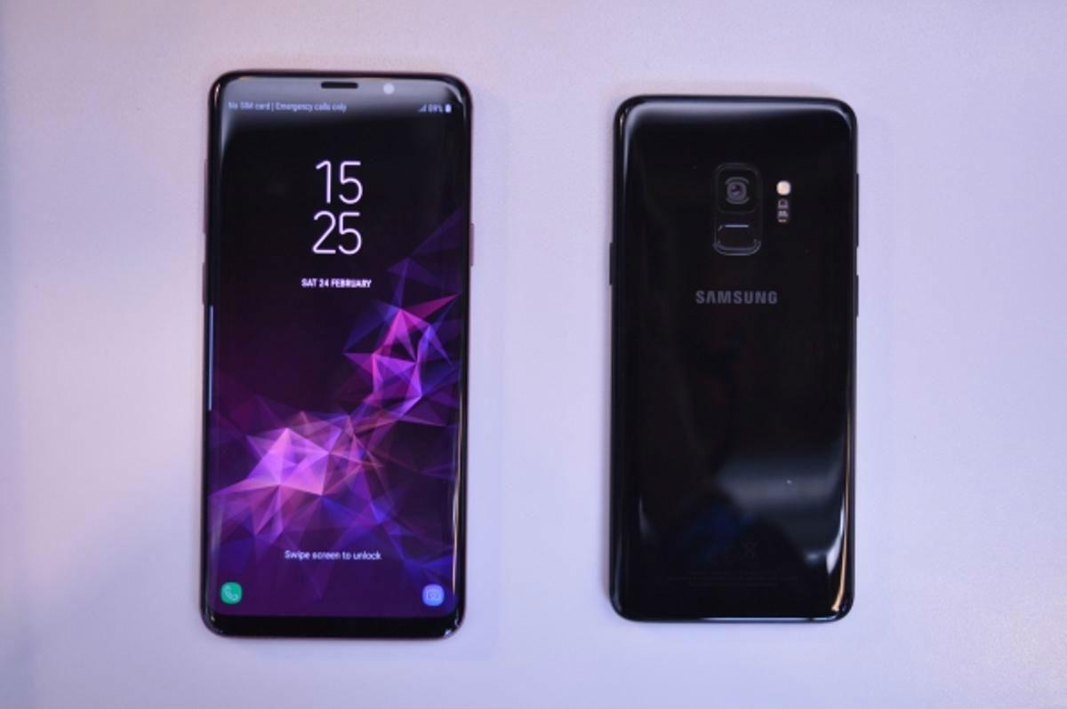 Samsung Galaxy S9 potencia