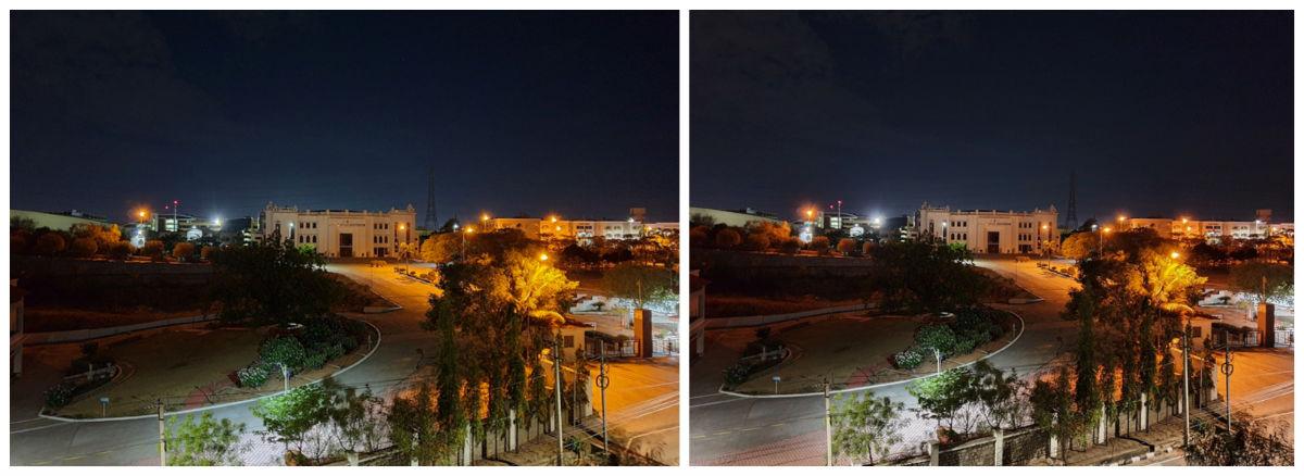 Samsung modo noche