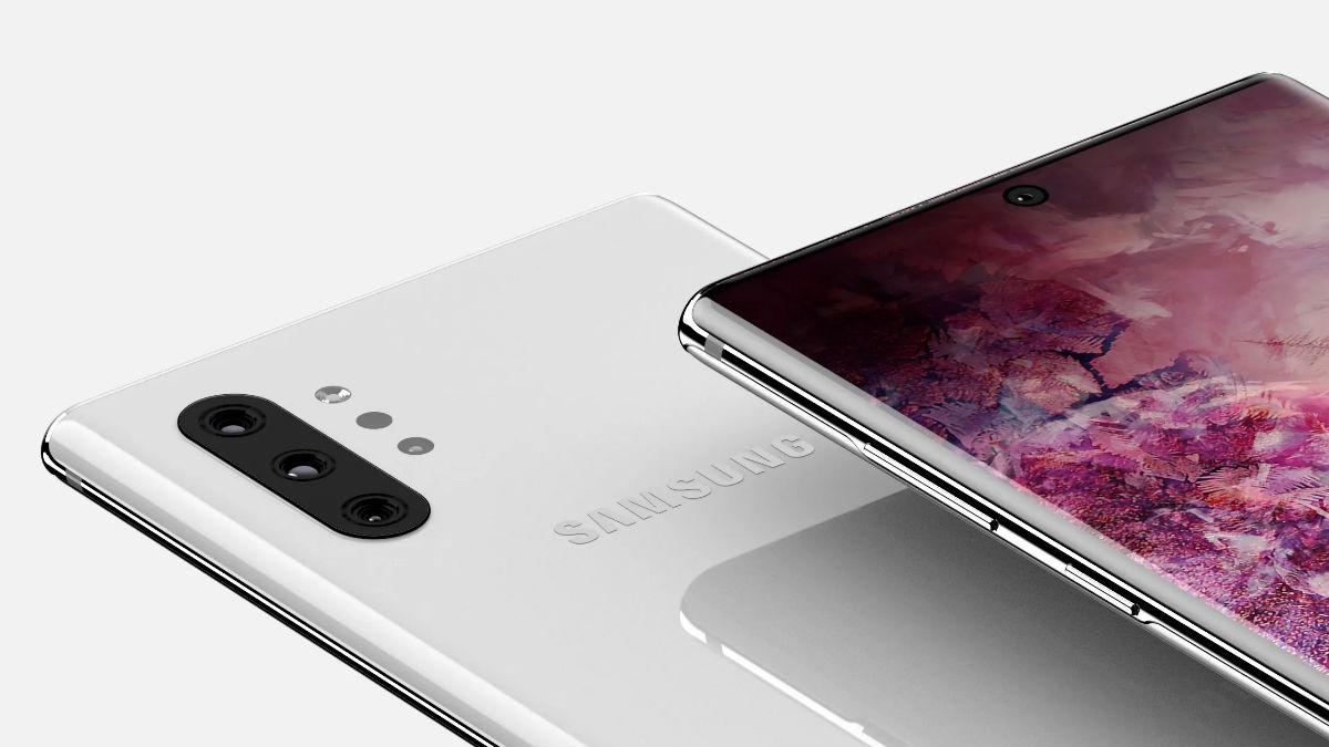 Ya conocemos el diseño final del Samsung Galaxy Note 10 Pro