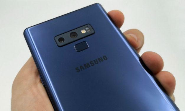 El modo noche llega a los Samsung Galaxy Note 9 en su última actualización