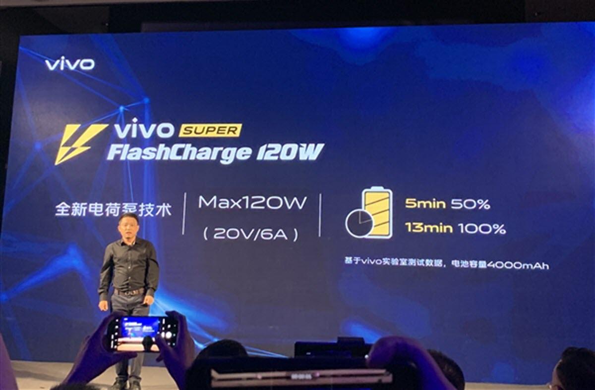 Vivo Super FlashCharge de 120W
