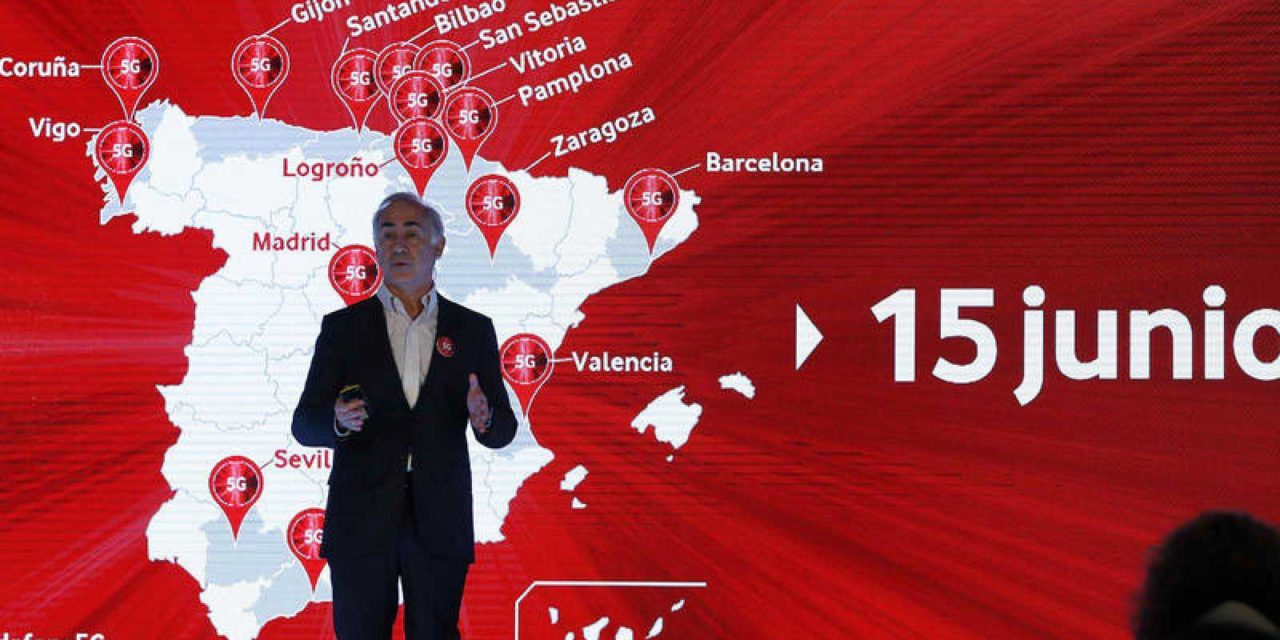 Vodafone incluye 5G en las tarifas de prepago y Vodafone Bit