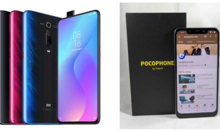 Comparativa Xiaomi Mi 9T vs Pocophone F1