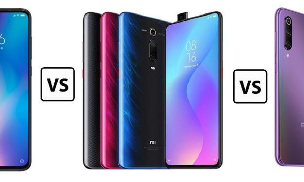 Xiaomi Mi 9 vs Mi 9 SE vs Mi 9T, ¿qué móvil comprar?