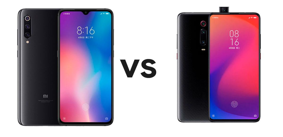 Comparativa Xiaomi Mi 9 vs Xiaomi Mi 9T