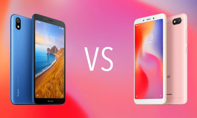 Comparativa Xiaomi Redmi 7A vs Xiaomi Redmi 6A