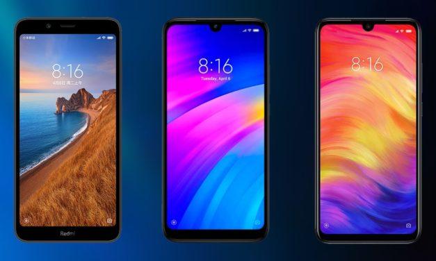 Xiaomi Redmi 7A, Redmi 7 o Redmi Note 7, ¿cuál comprar?