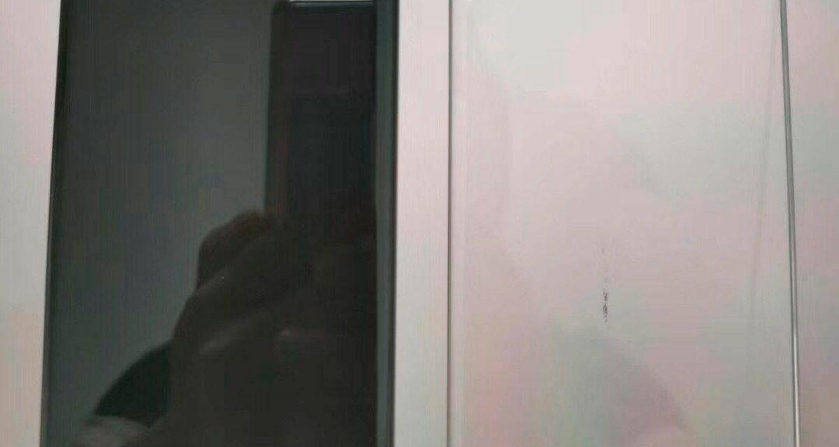 Aparece una imagen con el frontal del Huawei Mate 30