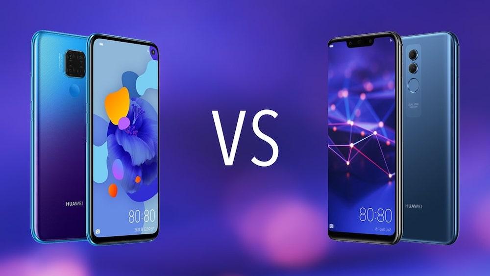 Comparativa Huawei Mate 30 Lite vs Huawei Mate 20 Lite