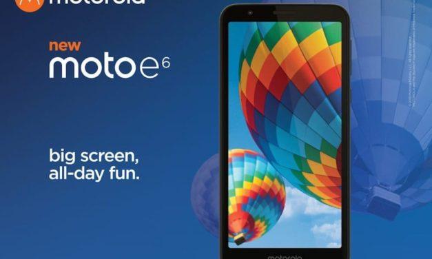 Motorola Moto E6, el más económico de Motorola por menos de 150 euros