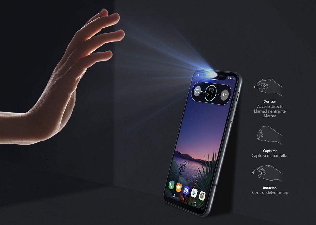 lanzamiento LG G8 Smart Green ThinQ gestos