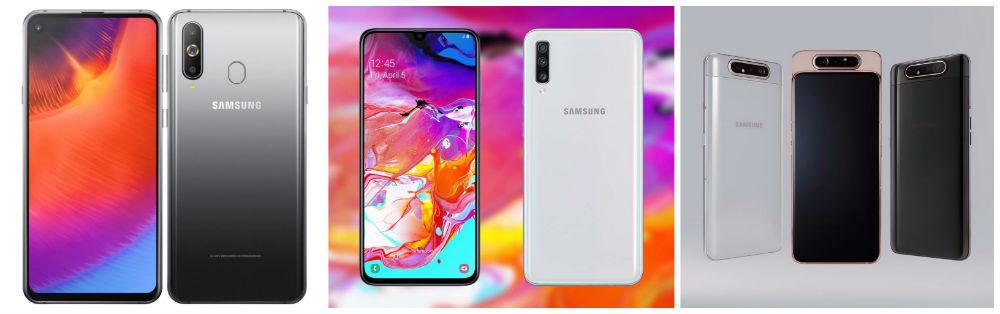 Samsung Galaxy A60, A70 o A80, ¿cuál comprar este 2019?