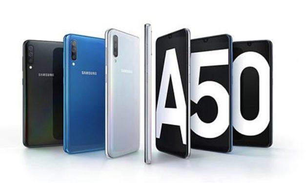 El Samsung Galaxy A50 se actualiza con modo noche y cámara super lenta