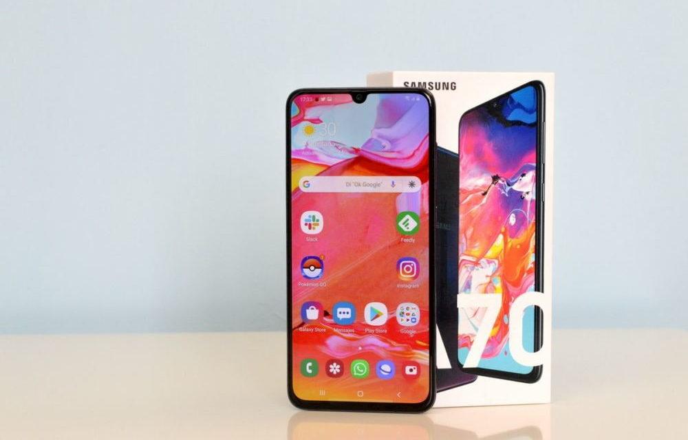 El Samsung Galaxy A70s más cerca: se filtran sus características