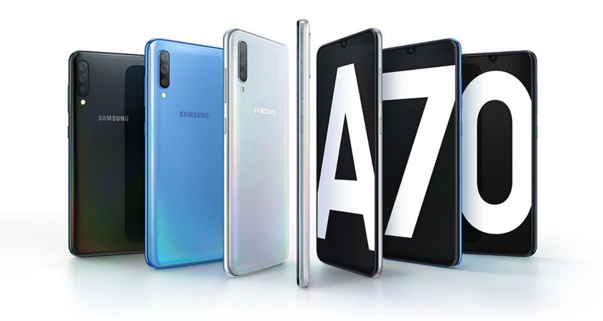 El Samsung Galaxy A70 se actualiza con mejoras en cámara y seguridad