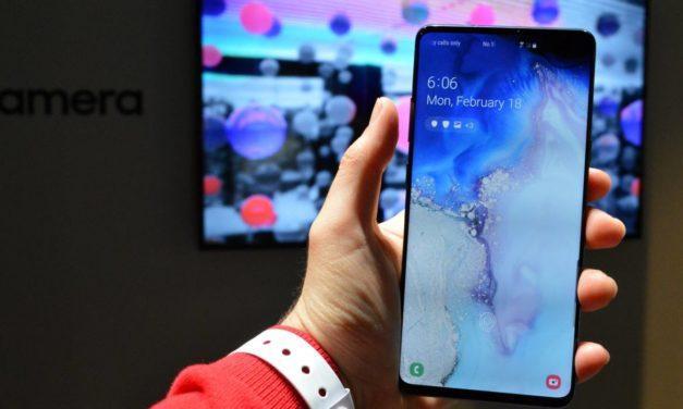 El Samsung Galaxy S10 se actualiza con mejoras en cámara y Bluetooth