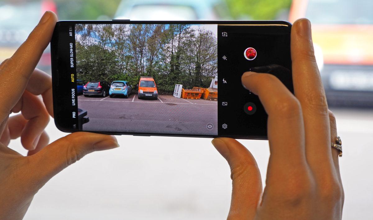 Usuarios reportan fallos en la cámara del Samsung Galaxy S9 y Note 9