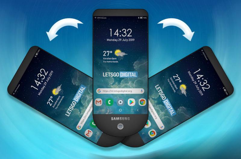 Samsung podría lanzar un móvil con hasta tres pantallas