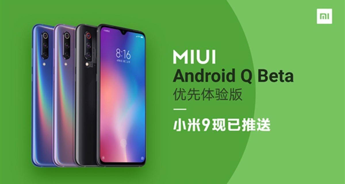 Así es la nueva versión MIUI de Xiaomi basado en Android Q