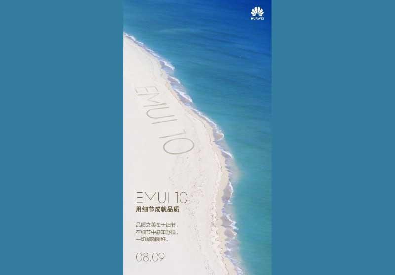 EMUI 10 para móviles Huawei y Honor: ya conocemos su fecha de presentación