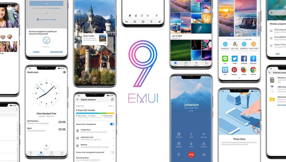 EMUI 9.1 llega a nuevos móviles Honor y Huawei: así puedes actualizar