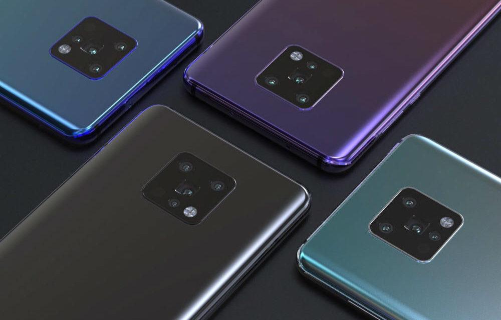 Los Huawei Mate 30 y 30 Pro podrían llegar en pocas semanas