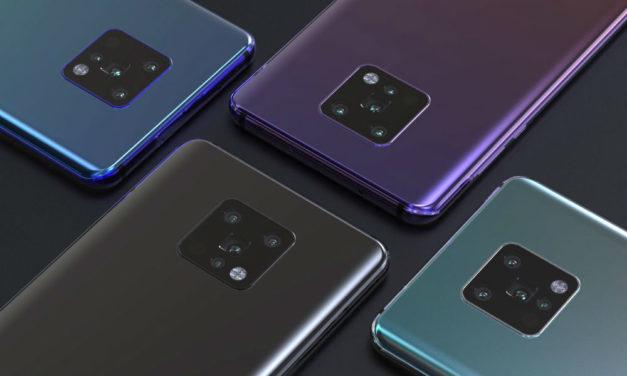 El diseño del Huawei Mate 30 se deja ver en imágenes reales