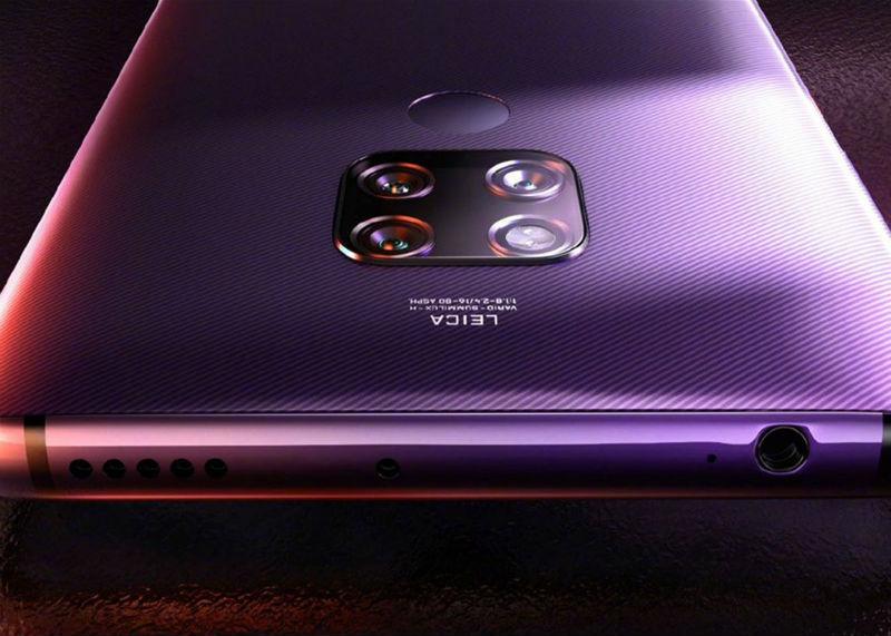 El Huawei Mate 30 es cazado en imágenes reales