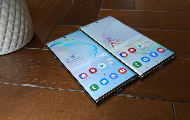 lanzamiento Samsung Galaxy Note 10 panel