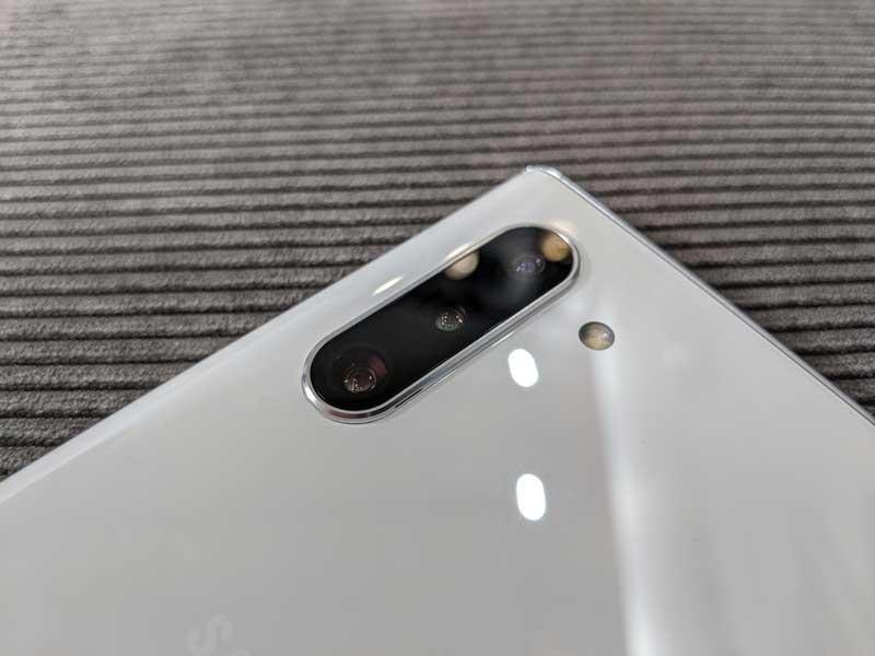 lanzamiento Samsung Galaxy Note 10 cámara trasera