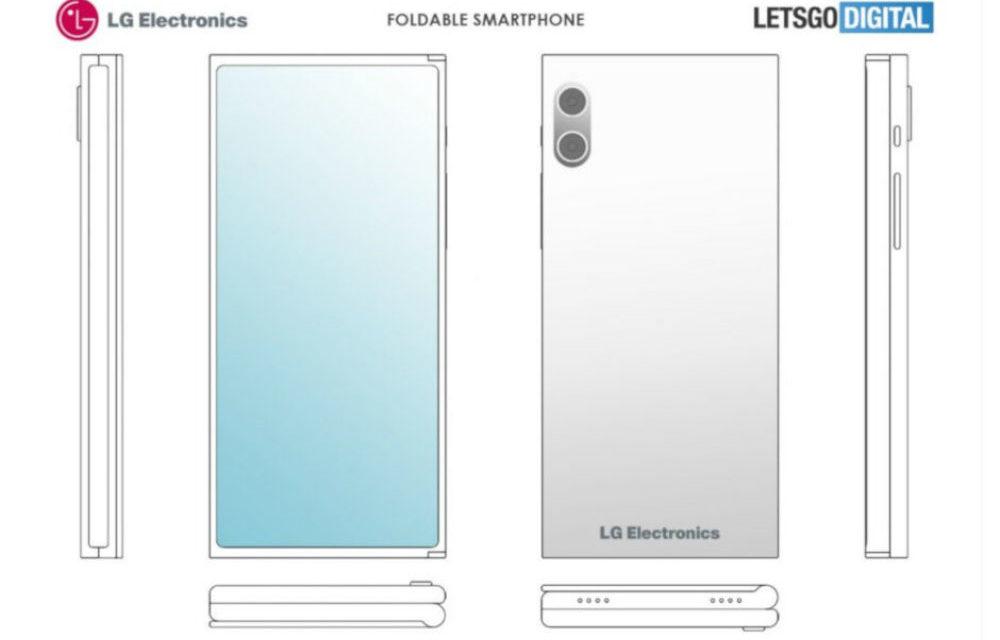 LG podría crear un móvil que se dobla con dos pantallas