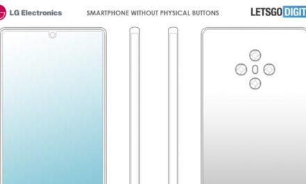 LG podría lanzar un móvil sin botones físicos