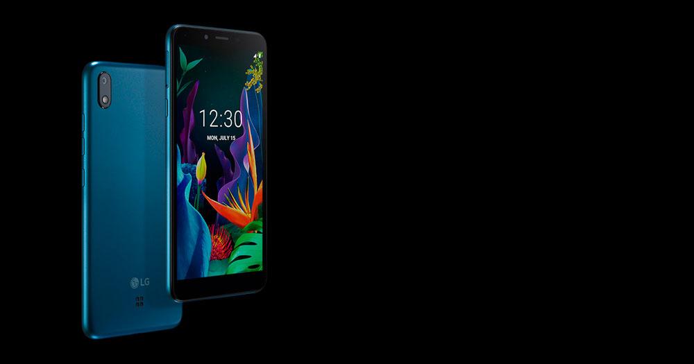 LG K20, móvil con Android Go y precio económico