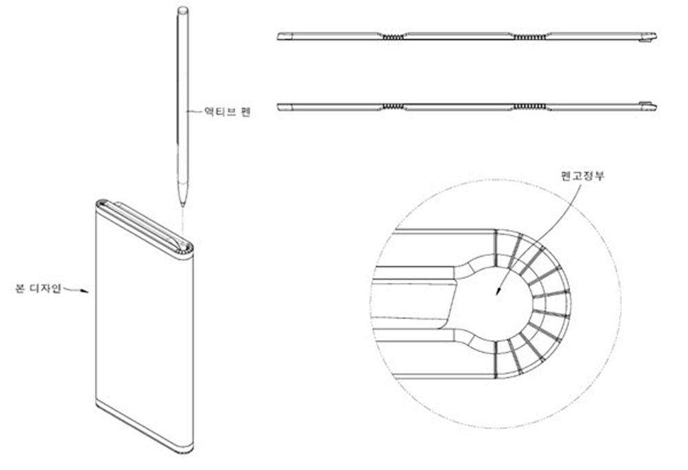 LG patenta un novedoso diseño de móvil plegable