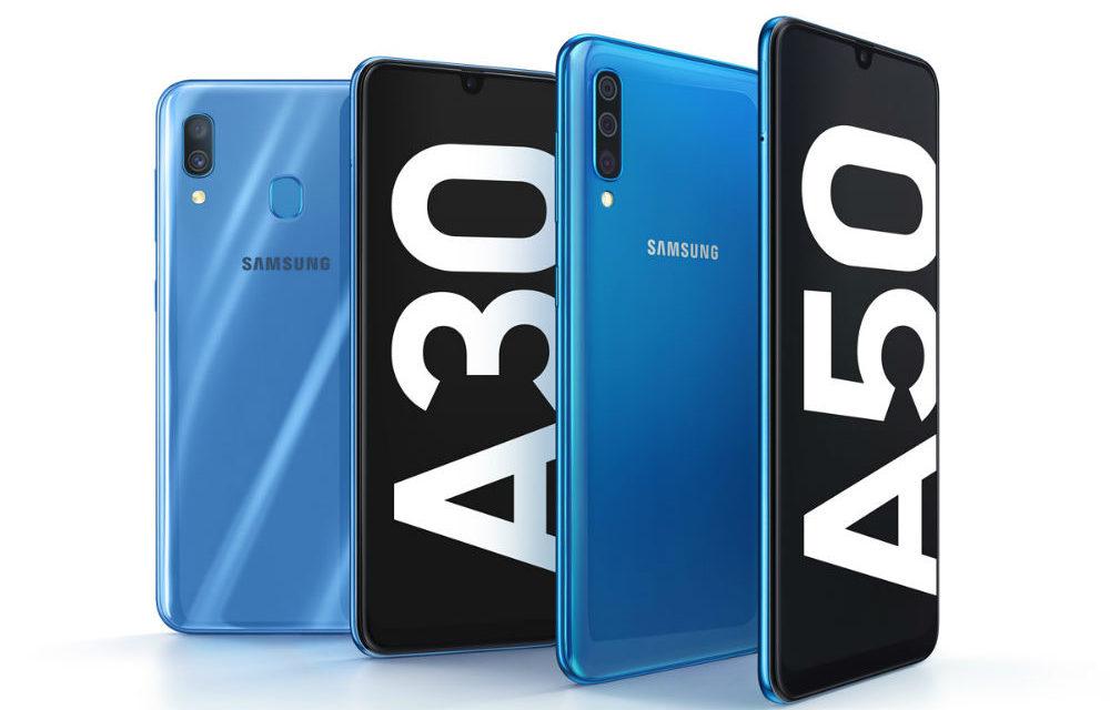 Las 5 diferencias entre el Samsung Galaxy A30 y Galaxy A50