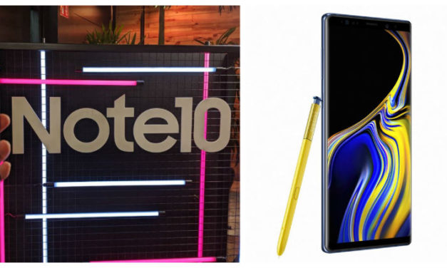 Comparativa Samsung Galaxy Note 10 vs Samsung Galaxy Note 9