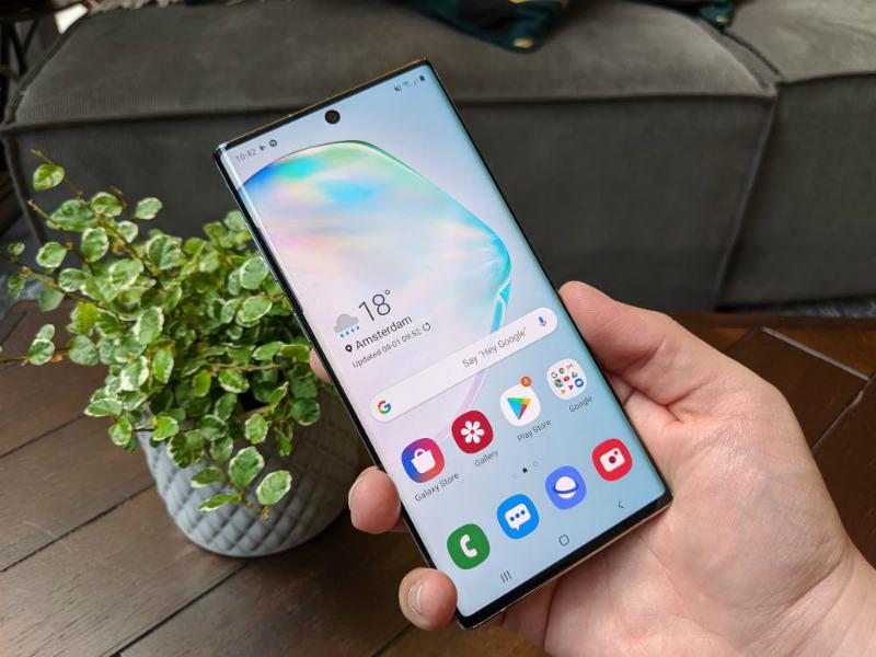 Cómo forzar el apagado del Samsung Galaxy Note 10